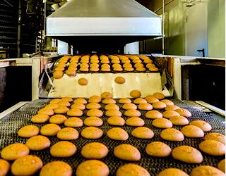 食品工場機械の洗浄